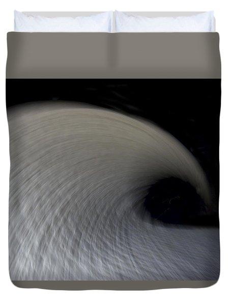 Textured Vortex Duvet Cover by Sean Davey