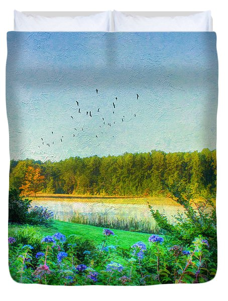 That Early Morning Light Duvet Cover by Darren Fisher
