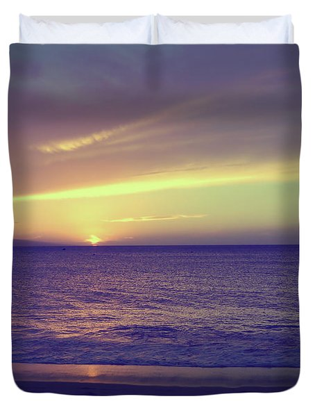 That Peaceful Feeling Duvet Cover by Laurie Search