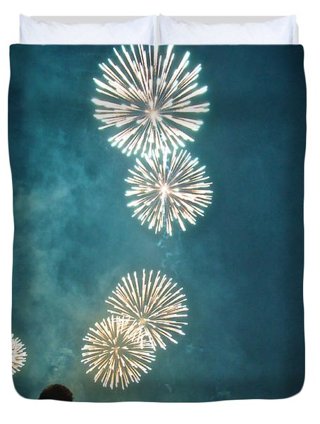 The 4th Duvet Cover by Josh Eral