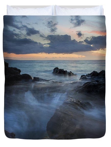 The Abyss Duvet Cover by Mike  Dawson