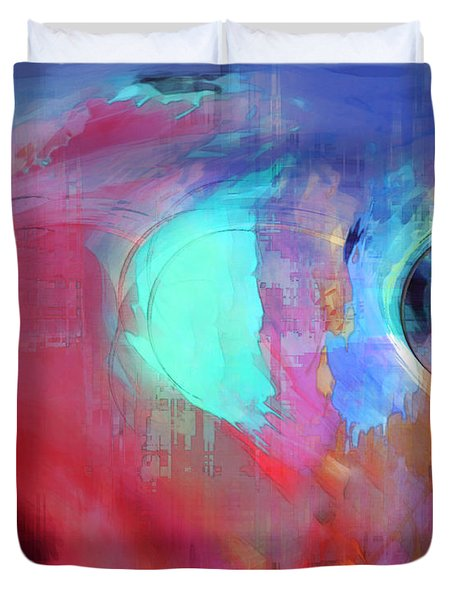 The Afterglow Duvet Cover by Linda Sannuti
