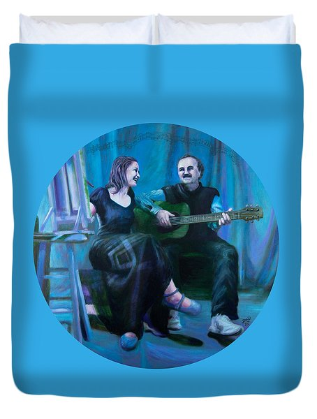 The Artists Duvet Cover by Shelley Irish