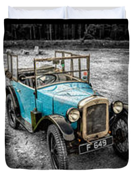 The Austin 7 Duvet Cover by Adrian Evans