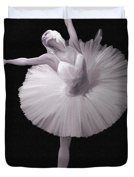 The Ballerina Duvet Cover by Angela A Stanton