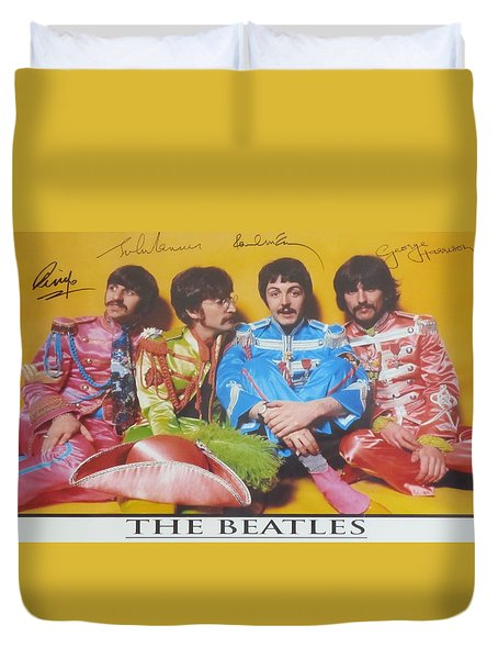 The Beatles Duvet Cover by Donna Wilson