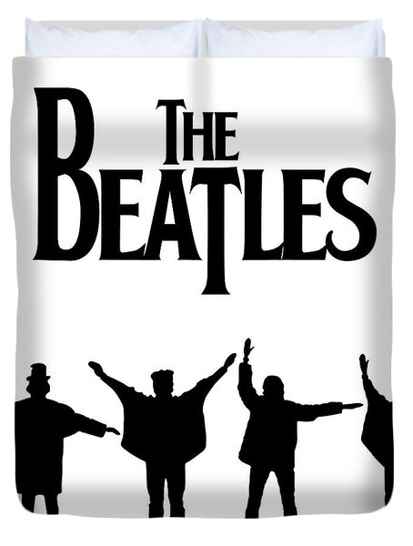 The Beatles No.06 Duvet Cover by Caio Caldas