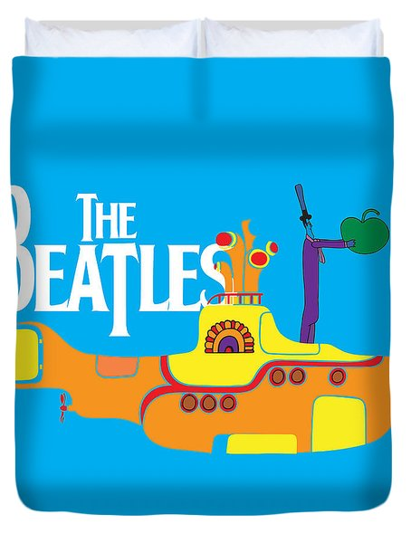 The Beatles No.11 Duvet Cover by Caio Caldas