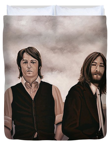 The Beatles Duvet Cover by Paul  Meijering