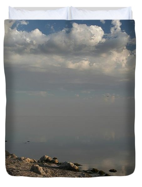 The Beginning And The End Duvet Cover by Laurie Search