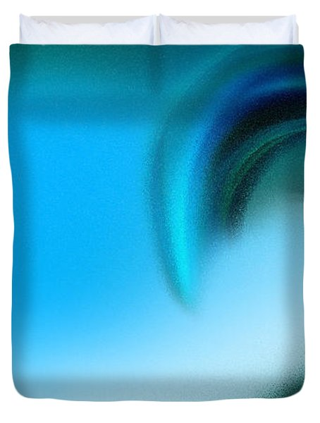The Big Wave Of Hawaii 2 Duvet Cover by Andee Design