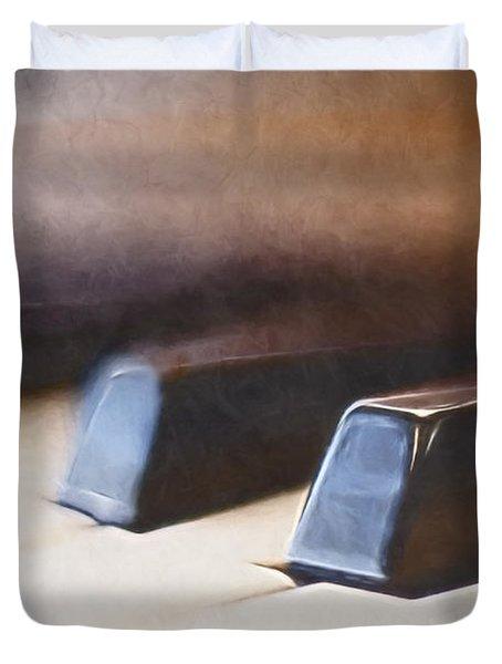 The Black Keys Duvet Cover by Scott Norris