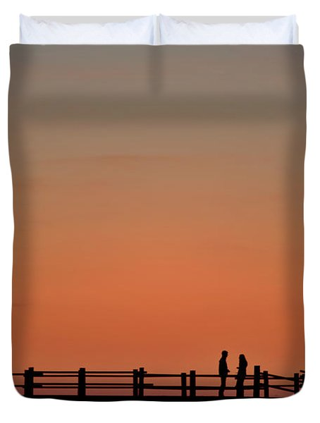 The Boardwalk Duvet Cover by Heiko Koehrer-Wagner