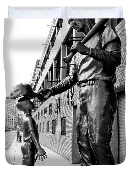 The Boston Legend Duvet Cover by Greg Fortier