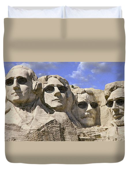 The Boys Of Summer 2 Panoramic Duvet Cover by Mike McGlothlen