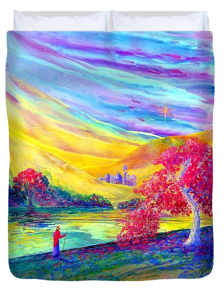 The Calling Duvet Cover by Jane Small