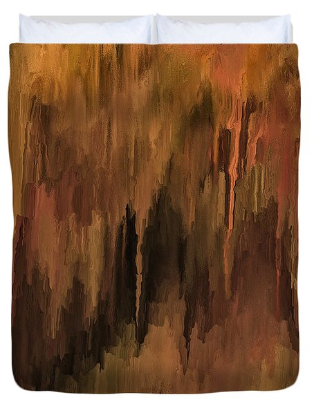The Cave Duvet Cover by Michael Pickett