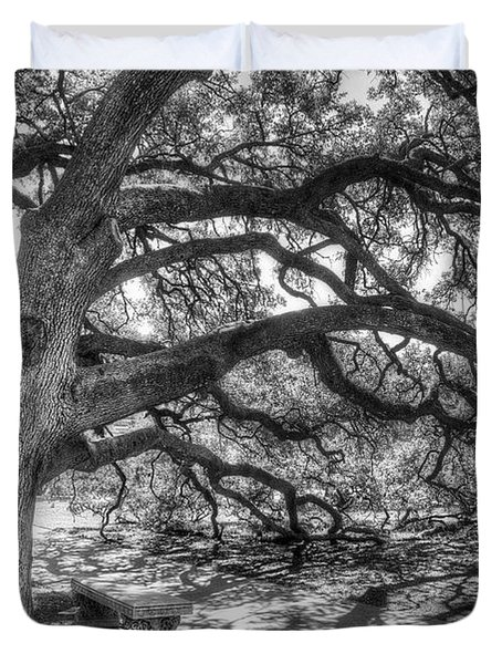 The Century Oak Duvet Cover by Scott Norris
