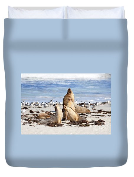 The Choir Duvet Cover by Mike Dawson
