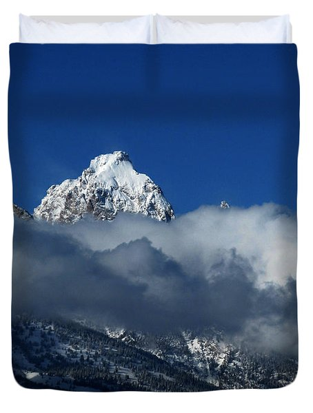 The Clearing Storm Duvet Cover by Raymond Salani III