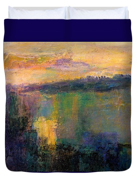 The Colors Of Hope Duvet Cover by Jim Whalen