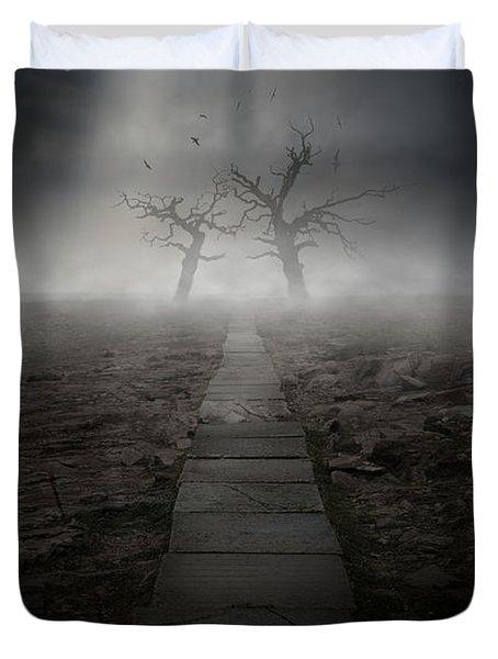 The Dark Land Duvet Cover by Jaroslaw Blaminsky