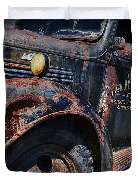 The Darlins Truck Duvet Cover by David Arment