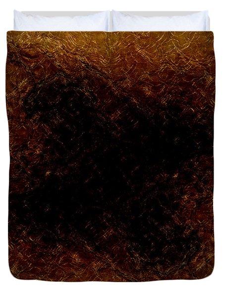 The Descent Duvet Cover by James Barnes