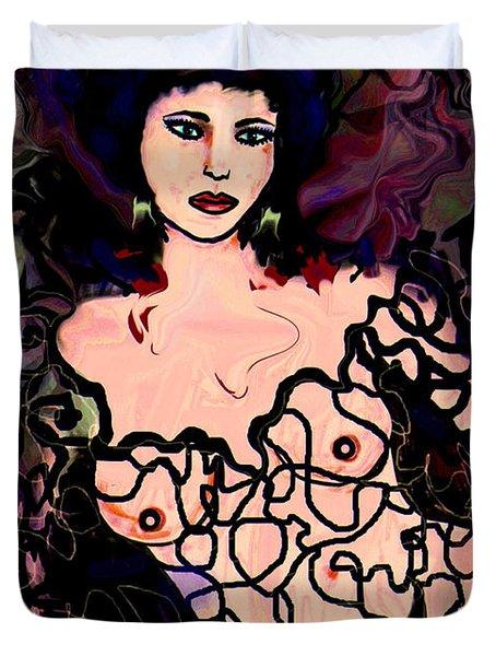 The Dreamer Duvet Cover by Natalie Holland