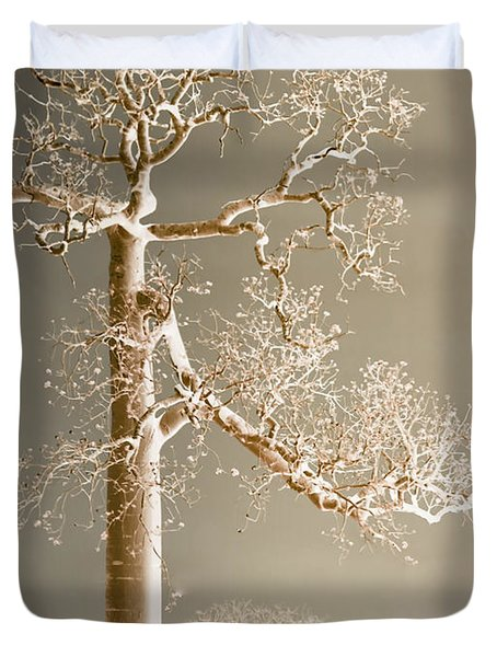 The Dreaming Tree Duvet Cover by Holly Kempe