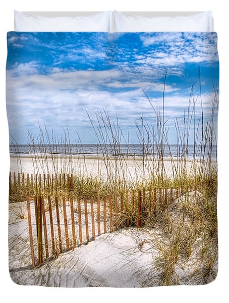 The Dunes Duvet Cover by Debra and Dave Vanderlaan