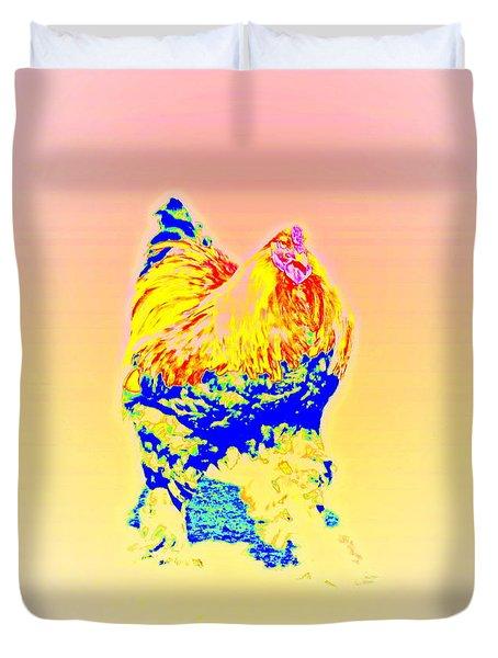 the egg warmer Duvet Cover by Hilde Widerberg