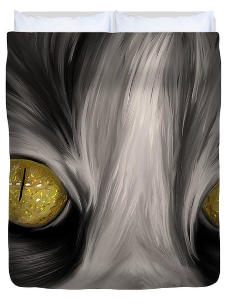 The Eyes Have It Duvet Cover by Angela A Stanton