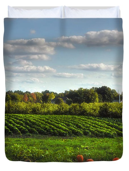 The Farm Duvet Cover by Joann Vitali