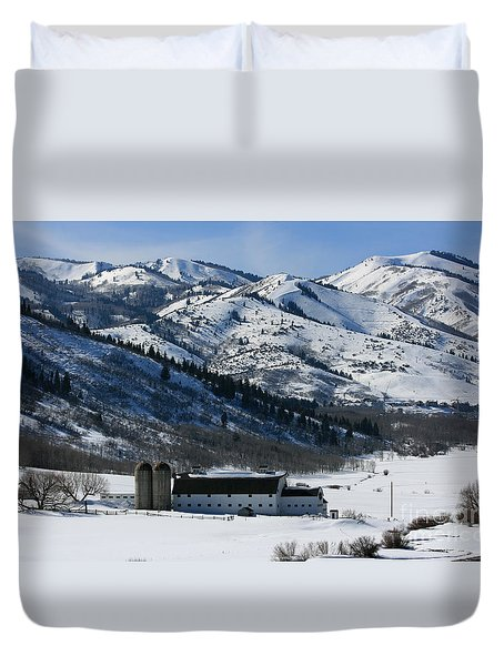 The Farm Duvet Cover by Marty Fancy