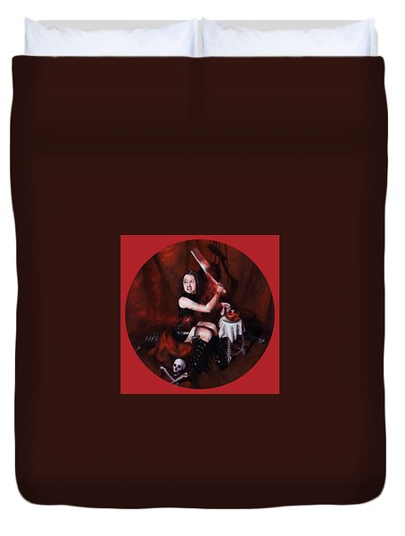The Fearful Duvet Cover by Shelley Irish