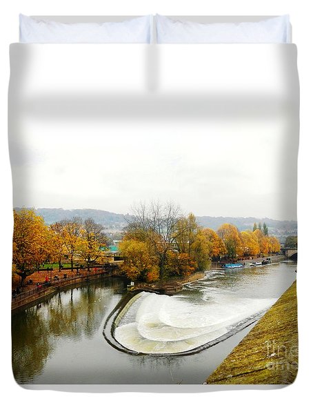 The Foggy Day Duvet Cover by LORETA MICKIENE
