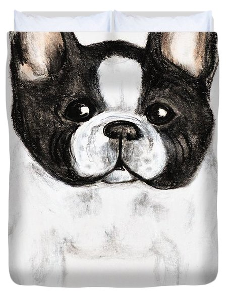 The Frenchton Duvet Cover by Maria Urso