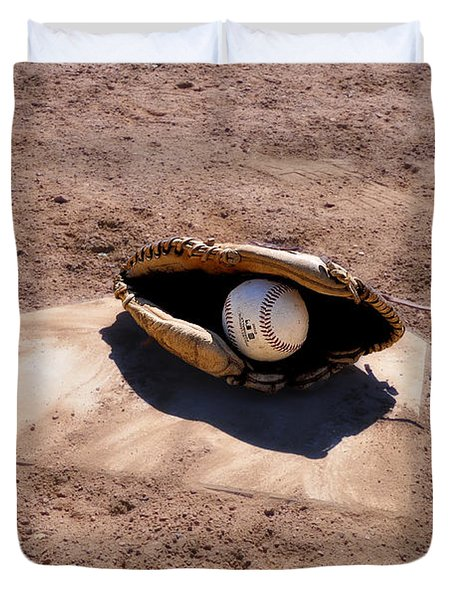 The Game Duvet Cover by Bill Cannon