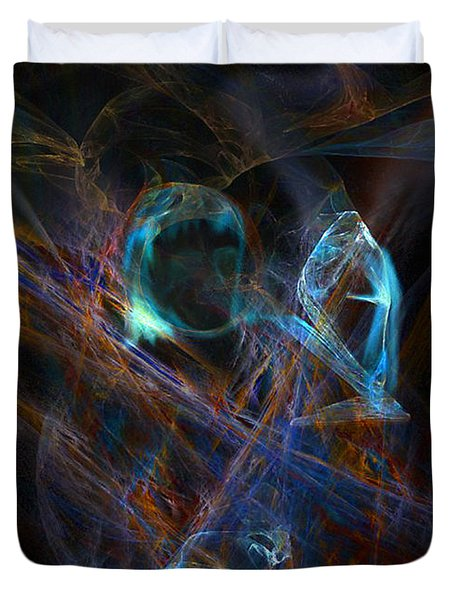 The Ghost Of Ancient Times Duvet Cover by Lance Sheridan-Peel