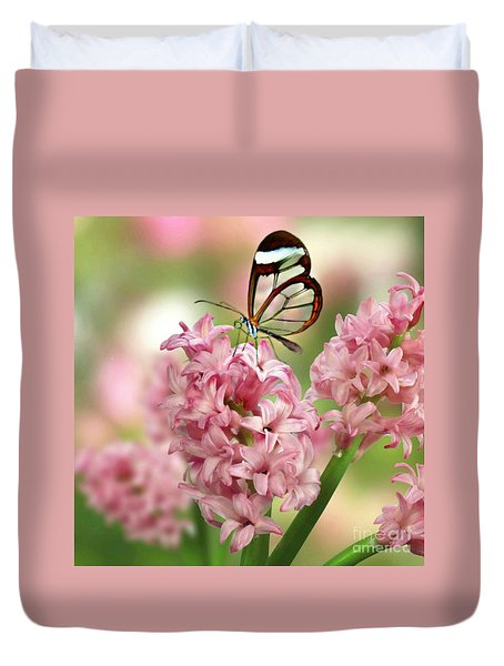The Glasswing Duvet Cover by Morag Bates