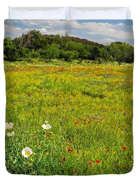 The Glory Of Spring Duvet Cover by Lynn Bauer