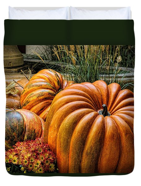 The Great Pumpkin Duvet Cover by Tammy Espino