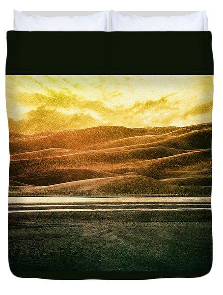 The Great Sand Dunes Duvet Cover by Brett Pfister