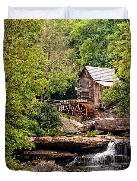 The Grist Mill Duvet Cover by Steve Harrington