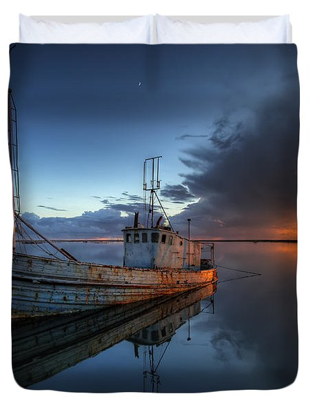 The Guiding Light Duvet Cover by English Landscapes