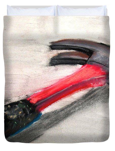 The Hammer Duvet Cover by Ryan Burton