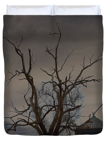 The Haunting Tree Duvet Cover by Alys Caviness-Gober