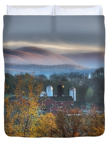 The Hills Duvet Cover by Bill  Wakeley