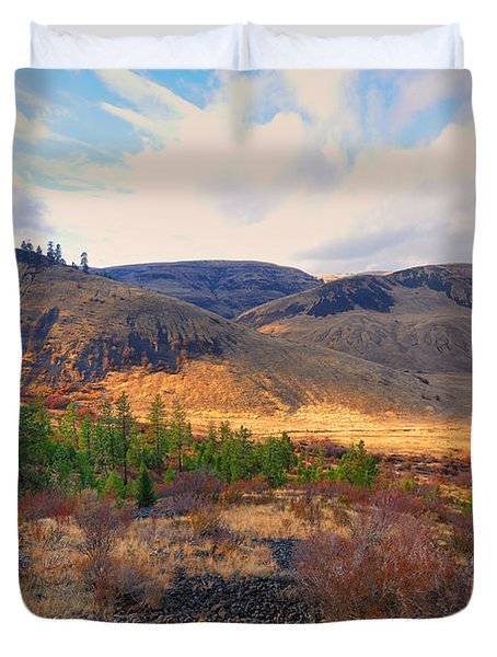 The Hills Duvet Cover by Gary Silverstein